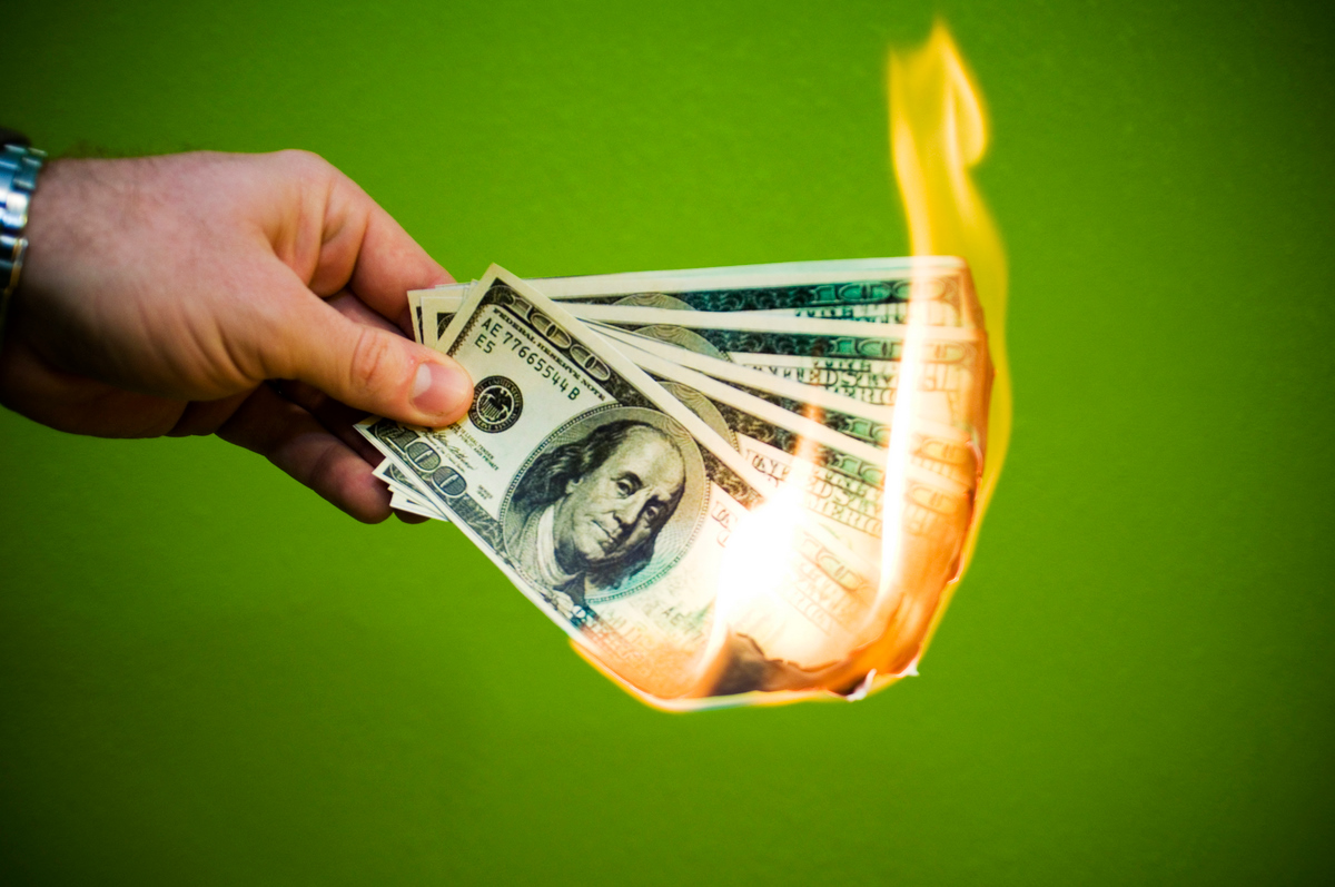 Sending Money to the Utilities is like Burning Money ...